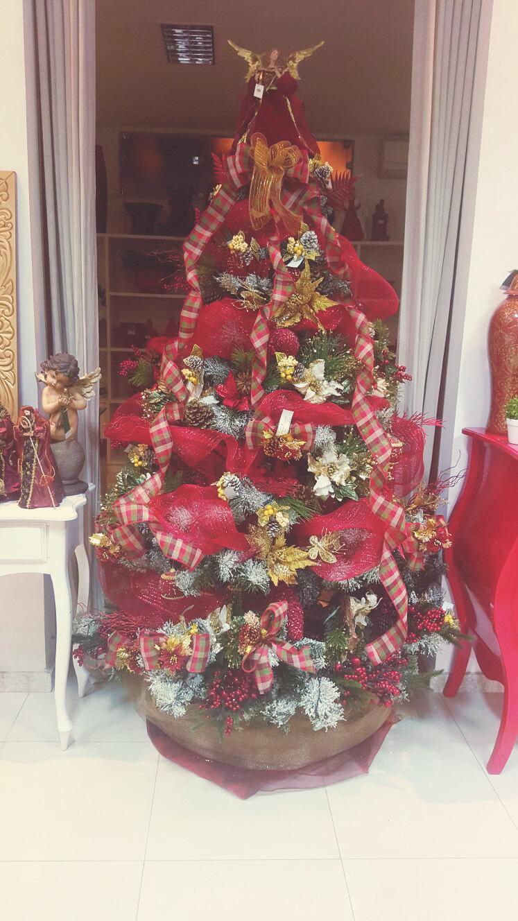 O encanto das Árvores de Natal