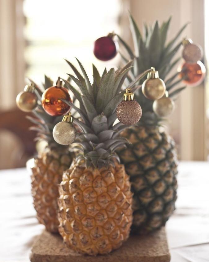 A tendência do Abacaxi de Natal