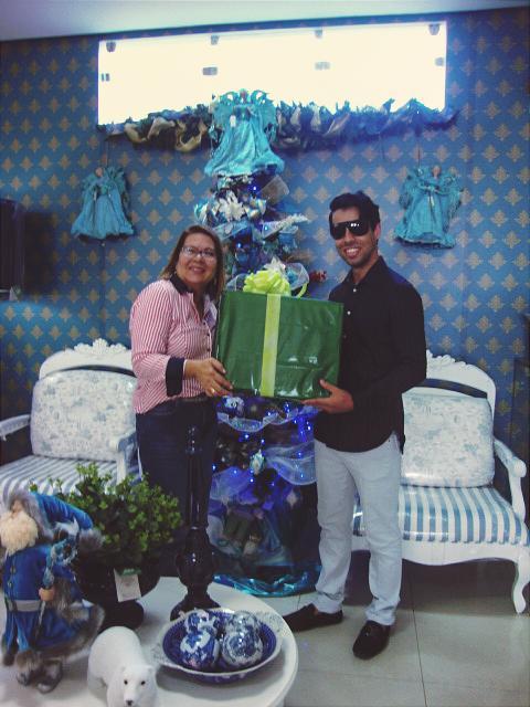 Eu +Natal no Shopping Garden entrega presépio