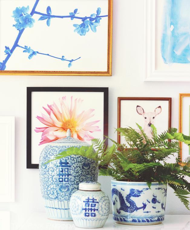 Chinoiserie, a delicadeza em azul e branco