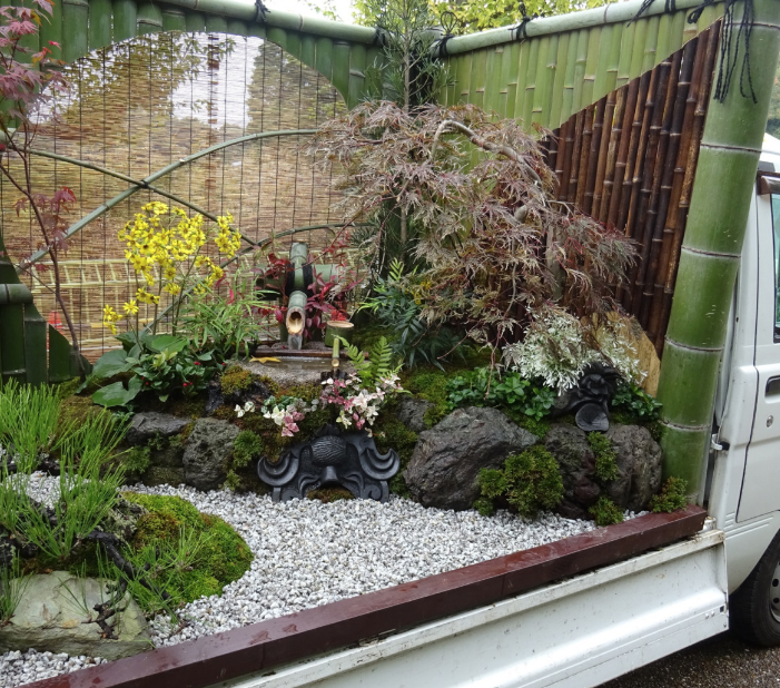 Kei Truck Garden - Concurso Japonês de Paisagismo