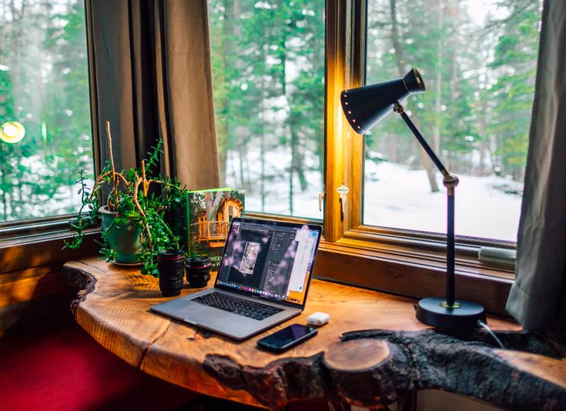 7 ambientes home office com plantas