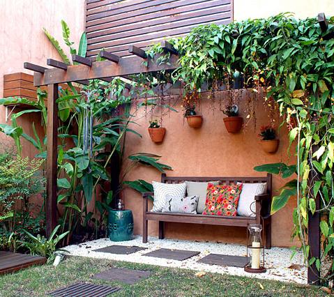 Decore seu jardim gastando pouco