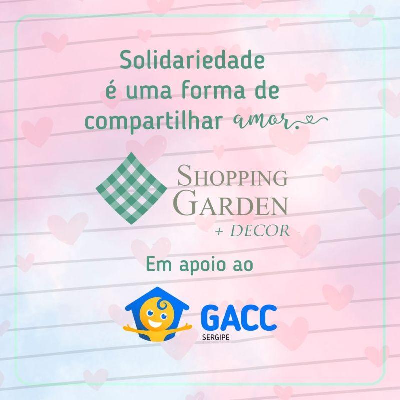 Crianças do GACC contam com apoio do SG +Decor