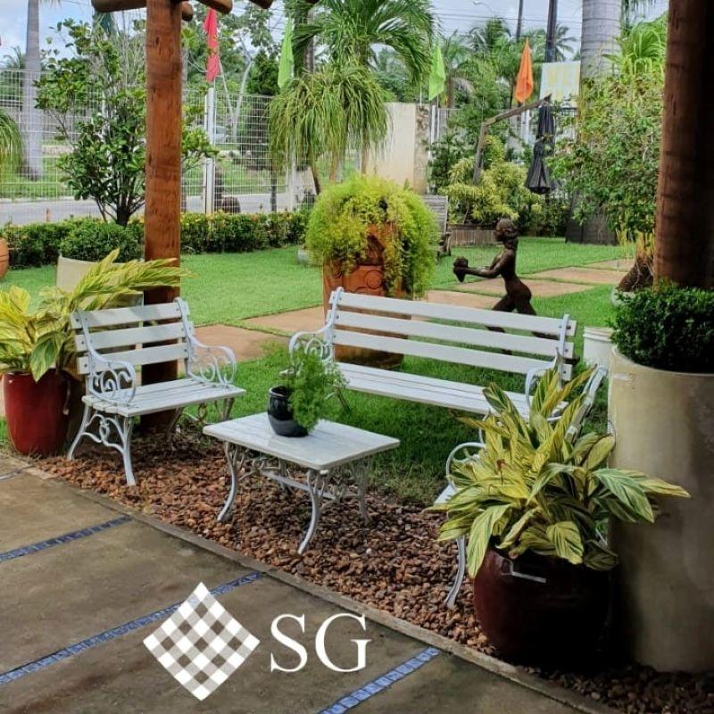 Pequenos jardins perfeitamente planejados