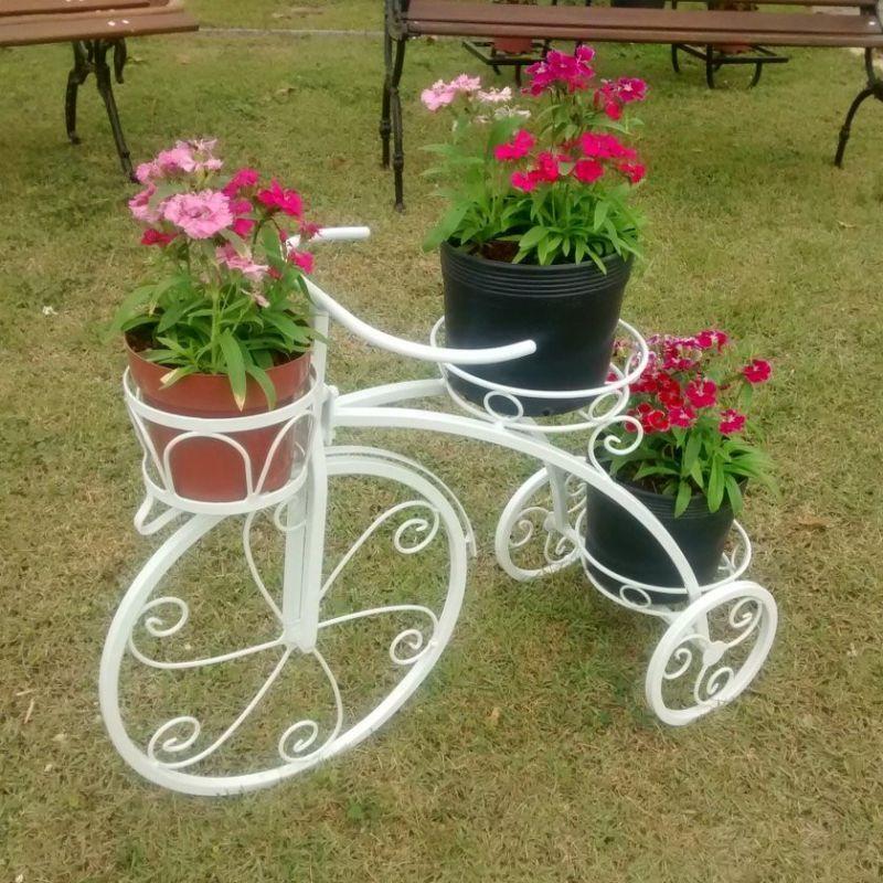 Organize e decore seu jardim com floreiras